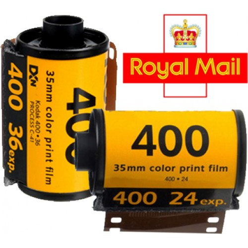35mm colour film/disposable camera postal order service