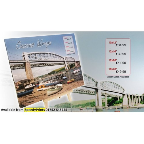 Canvas Wrapping, Premium quality canvas printing 12x20""