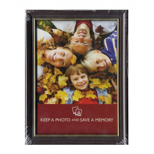 "6x4"" Brown & Gold Frame"