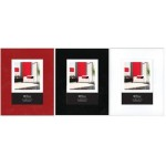 "4x6"" Gloss Frame Available in Red, Black and white"