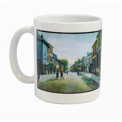 Cornwall printed Mug depicting Old Saltash