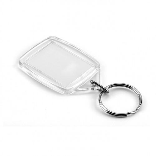Printed Key ring 45mm x 35mm