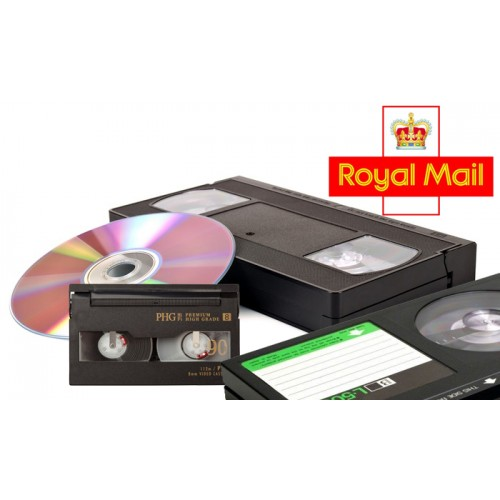 Video to DVD/USB Postal service
