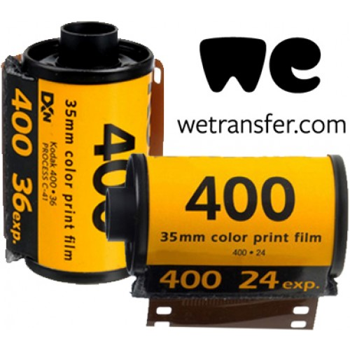 Colour film/disposable camera to digital only (no prints)
