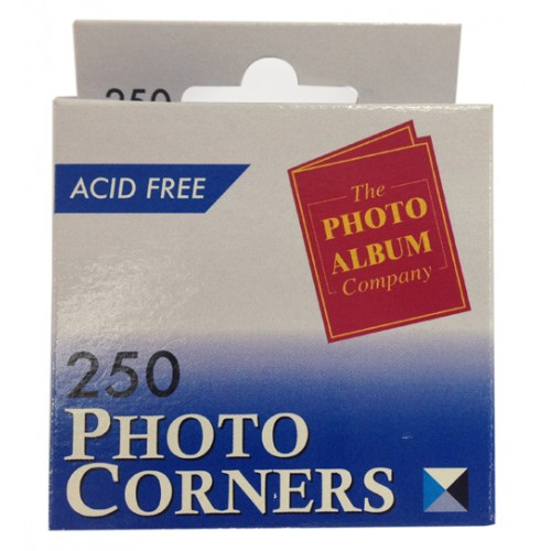 250 Transparent Photo album corners